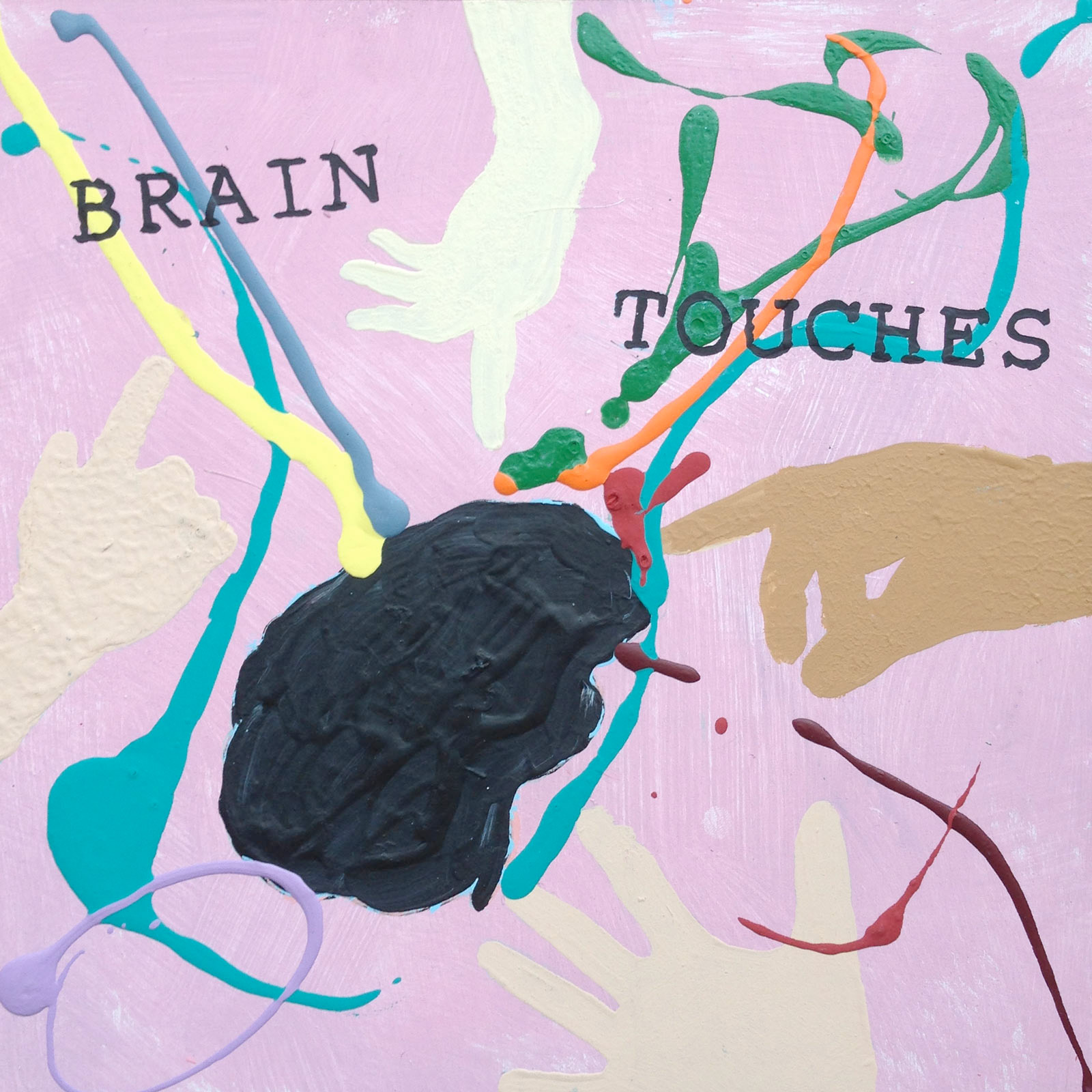 Boyd Richard, painting, brain touches