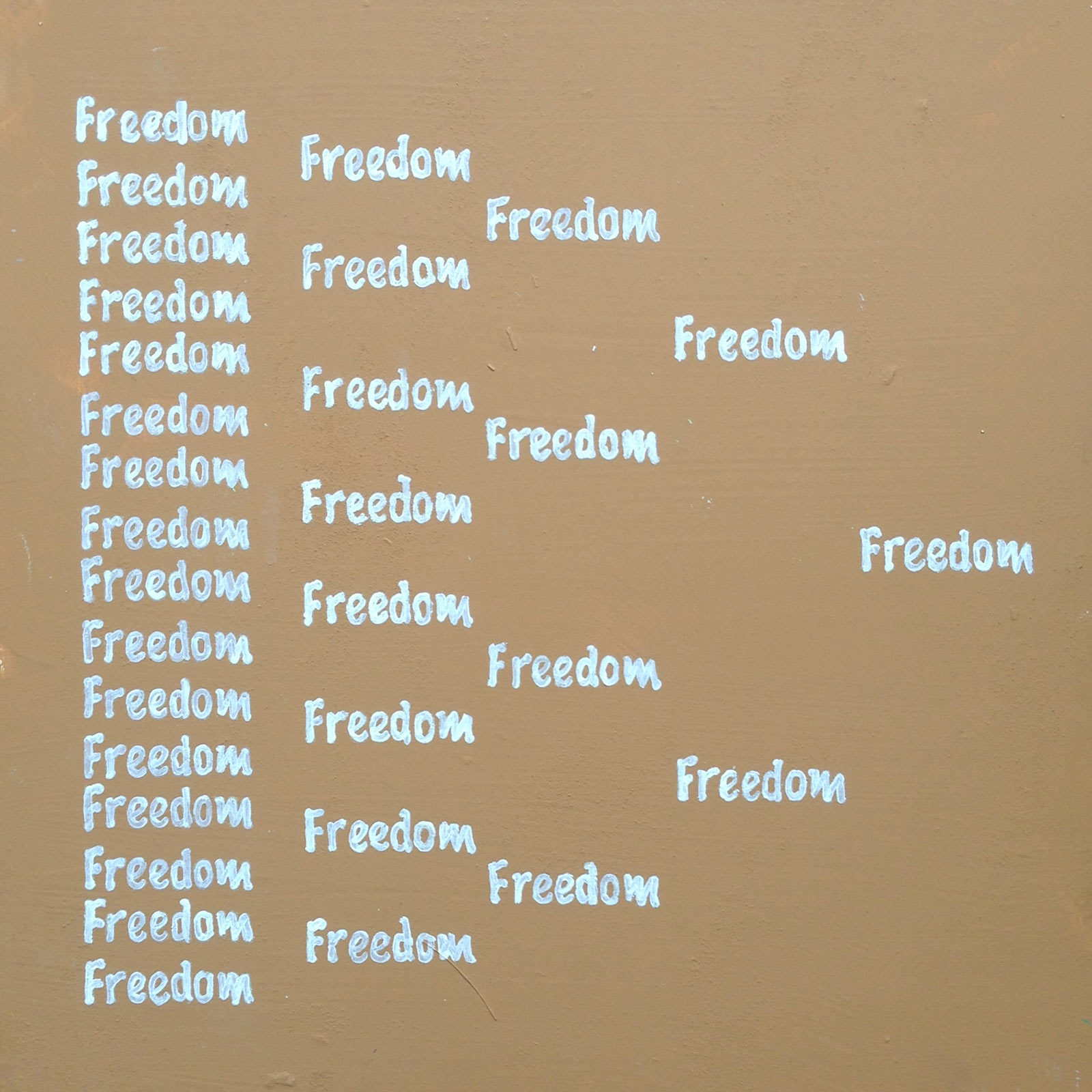 Boyd Richard, painting, freedom